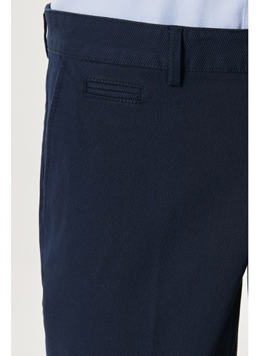 AC&Co / Altınyıldız Classics Slim Fit Dar Kesim Yan Cep Casual Pantolon 4A0121200022 Lacivert